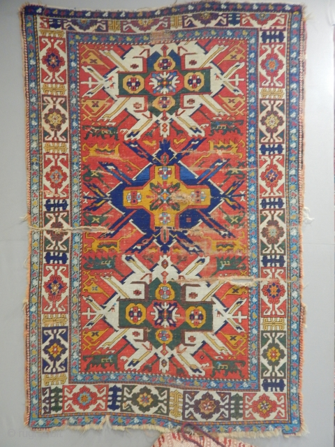 Caucasian Atler Kazak Carpet  size.200x130cm