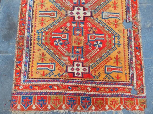 Central Anatolian Karapınar Rug size.200x130cm  See it at arts, October 27-29 in San Francisco