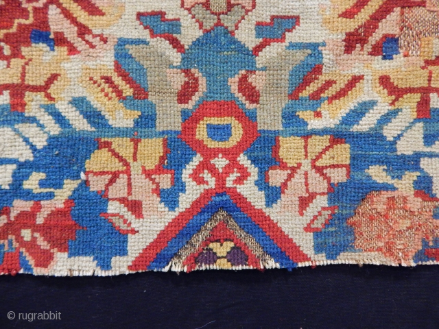 Old Zeyhur Carpet Fragment 