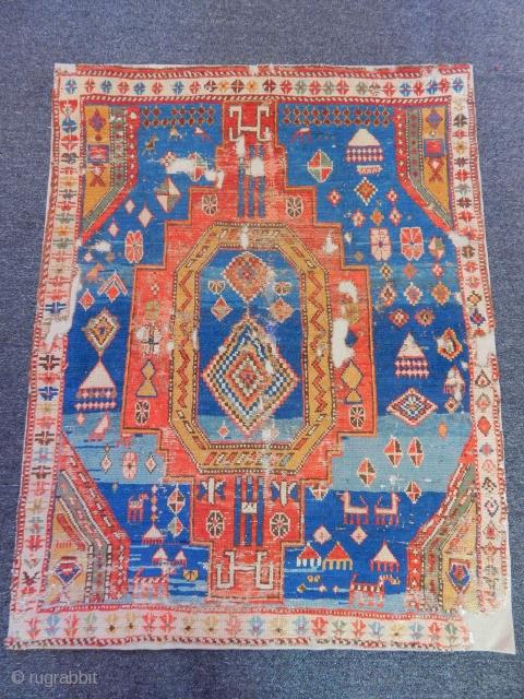 Sahsavan Carpet size.130x100cm