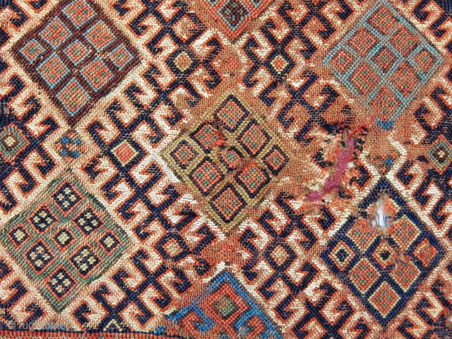 Wonderfull Qashqaii Sumak Bag size.35x40cm
