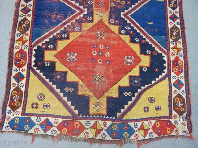 Old Qashqaii Gabbe Carpet