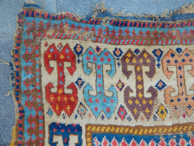 Antique Sahsavan Carpet Runner