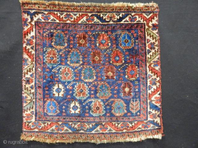 Antique Qashqaii Qamse Carpet Bagface