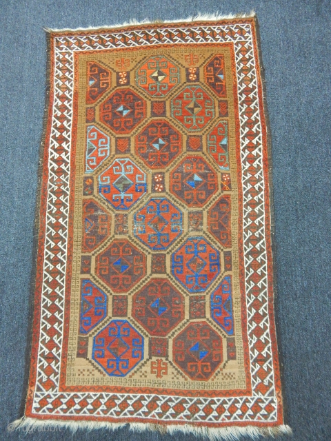 Wonderfull Baluch Carpet size.155x90cm