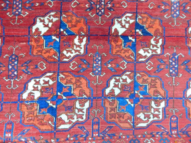 Turkmen Tekke Main Carpet