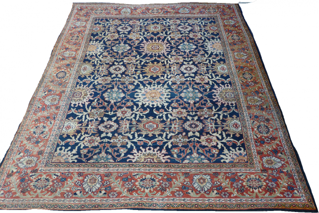 Antique Ziegler mahal carpet - late 19C. size 3.86 x 3.27 m