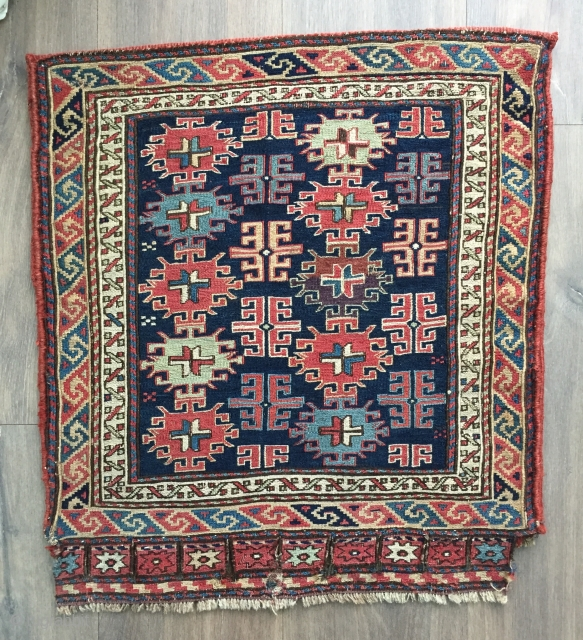 Very nice mid 19 c Shasavan sumac bag in great condition size 51 X 58 cm