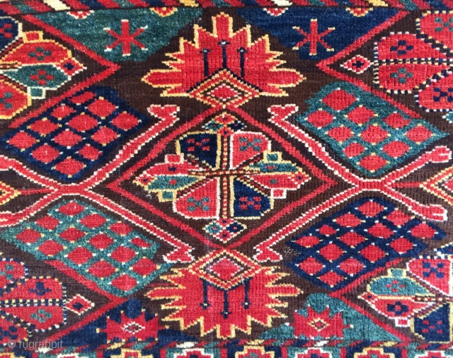 Antique Ersari trapping with outstanding colours ca 1880