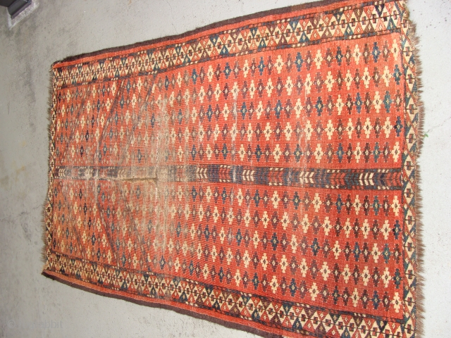 Chodor prayer rug. 40 inches by 65 inches.