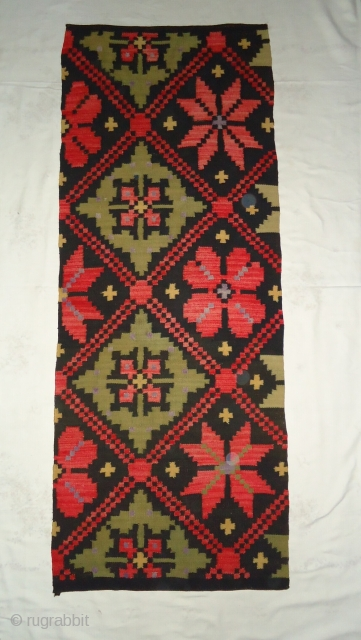 Vintage handmade swedish rug.