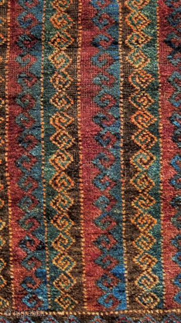 An early 20th century Baluch Balisht. Size 110 x 68cm  In good all-over condition, well drawn,with thick pile and good unfaded colours