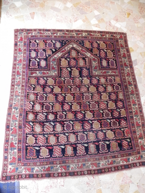 Caucasian Marasali Sirvan rugs in good condition size 136x112