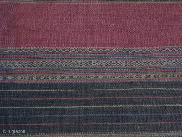 Blanket, cotton, Ede people/ Central Vietnam, ca. 1950