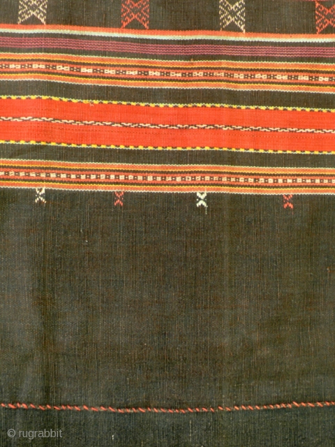 Tubular women's skirt, sarong, Westtimor, Indonesia,