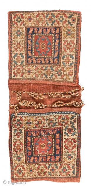 Lot 28, Shahsavan Soumak Bag, start price: € 800, Auction April 30th 3pm, http://www.liveauctioneers.com/auctioneers/LOT44821893.html