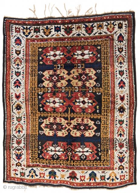 Lot 35, Zakatala, 225x175cm, Caucasus 19th century, starting bid Euro 3.000, Auction June 18, 5pm, https://www.liveauctioneers.com/item/62389146_zakatala