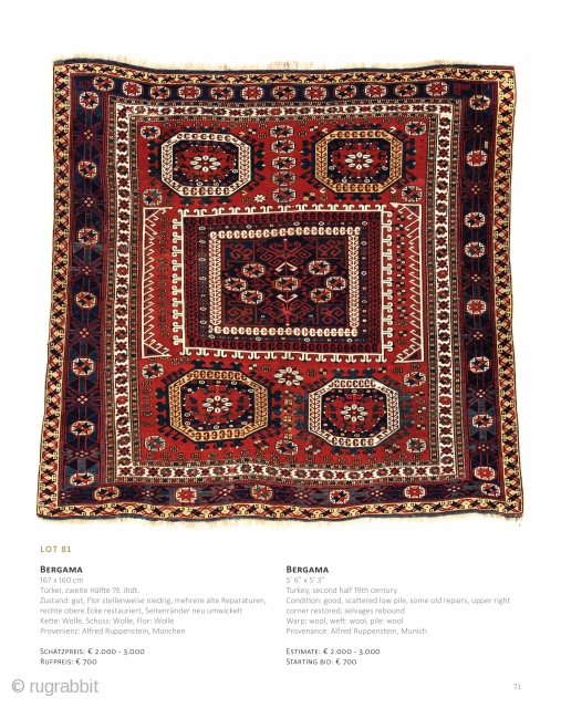 Auction June 22 at 4pm, https://www.liveauctioneers.com/catalog/143574_fine-antique-oriental-rugs-xvi/