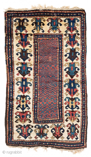 Lot 26, Zakatala, 4 ft. 11 in. x 2 ft. 11 in., Caucasus, second half 19th century
