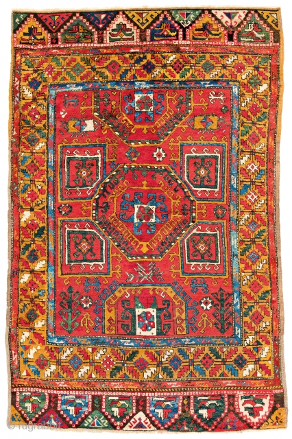 Lot 103, Konya, starting bid € 2600, Auction October 14 5pm, https://www.liveauctioneers.com/catalog/109605_fine-antique-oriental-rugs-viii/?count=all
