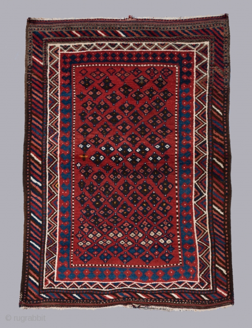 "Very cool Lori rug circa 1900 in great condition. 6'8"" x 5'9"". 