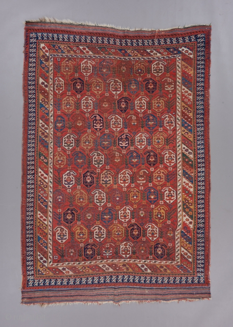 """Lovely Afshar with very good color. 6'4"""" x 4'2"""".   Please visit our website for more collectible and decorative woven art : www.bbolour.com"""
