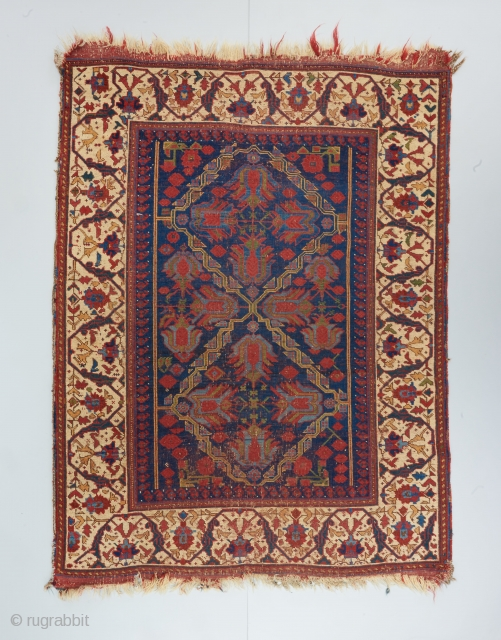 "Tulip Afshar. It goes without saying, but check out that border !! 5'5"" x 4'1"".