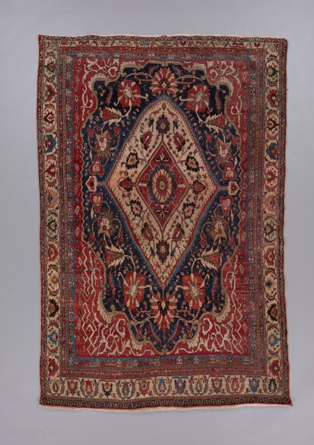 """Finely woven, beautiful Kashkuli Qashqai. Red wefts. 6'1"""" x 4'1"""".   Please visit our website at www.bbolour.com to view a wide variety of highly collectible and decorative rugs, carpets , textiles, tapestries and  ..."""