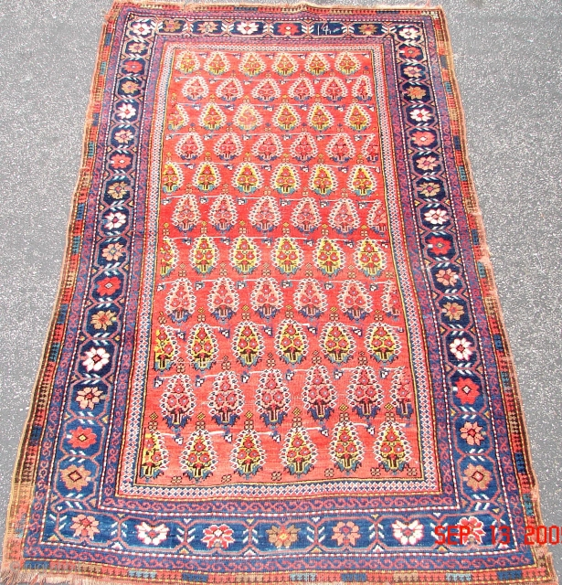 Antique Persian Afshar Rug. Old Afshar Circa 1900
