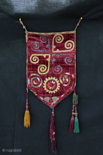 Nice Uzbek bag probably Lakaï , beautiful colors . 