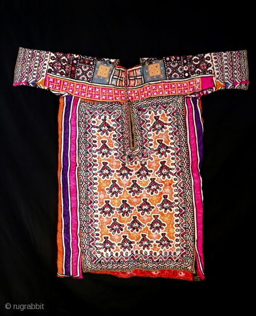 Beautiful groom embroidered dress , originally from Sind area . 