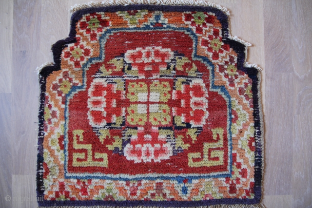 China throne Seat 19th century 54x48cm