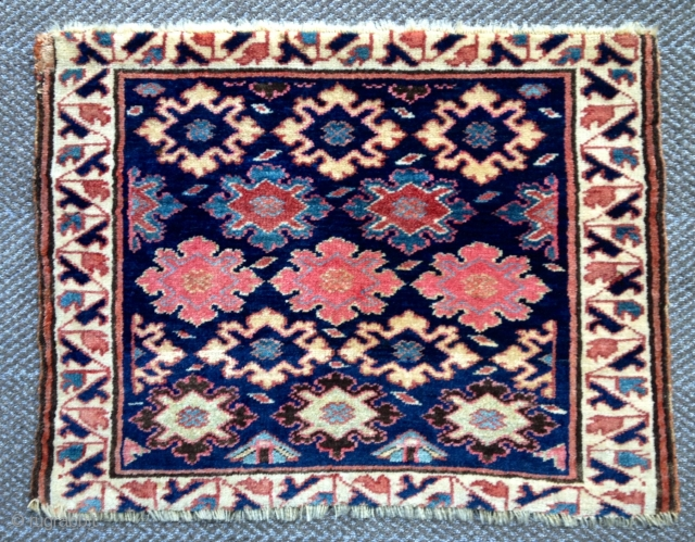 Killer, full pile, NW Persian or Shasavan bagface. Pristine condition, vacationed at the Mann Spa. Ready to go on the wall. Wonderful range of color and wool. Minor repair (old) in one  ...