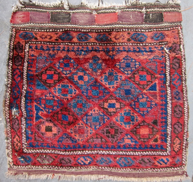 Funky Baluch with great color and wool.