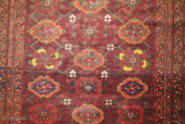 Ersari - Beshir Mina Khani rug, 150 x 210 cm, 19th c, in quite good condition, natural colors