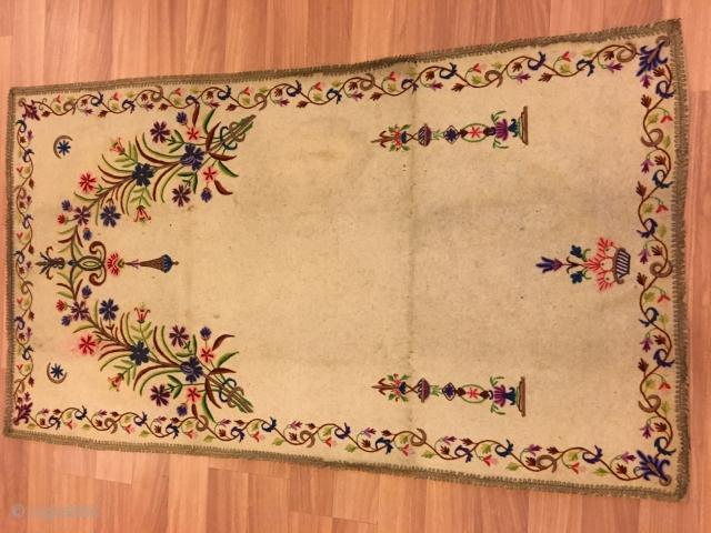 Size:82x147  ottoman felt  19th century