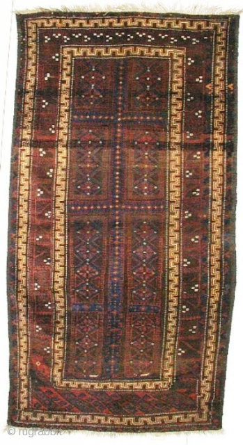 1130 Beludj Afganistan (2.20x1.11m) very good condition shine wool,about 2nd quarter 20th cent.