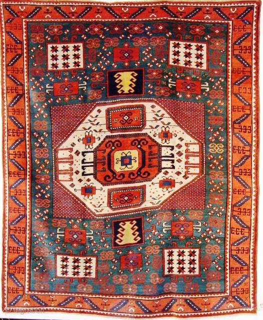 100/Haes-2 Katachoph,(2.26x1.81m) good condition,shine wool.