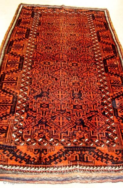 Beludj (2.09x1.10m) good condicion one little repair shirazi original.
