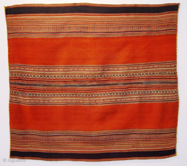 1573 Kelim? Bolivien? Very fine foundation natural dye made about 1900.