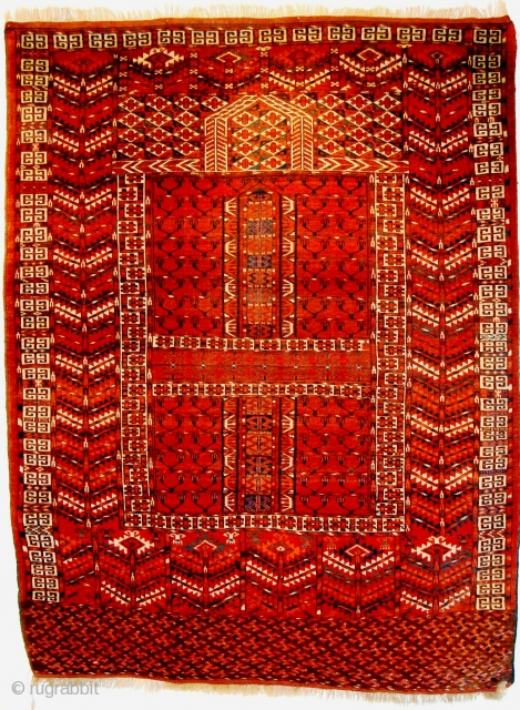 100/422 Tekke Engsi (1.53x1.17m) very good condition about 1900.