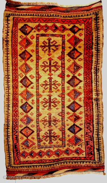 1361 Beludj from Afganistan (1.40x0.80m) cammel Wool,good condition.