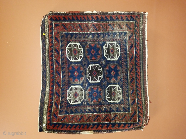 """Baluch - 26"""" x 29"""" As found with oxidized browns.  Great graphics. $185 or best offer."""