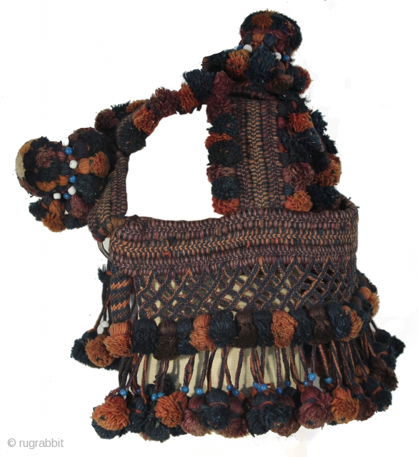 Kochi Baluch Horse/Camel/Donkey head cover. Animal Trapping, Afghanistan, Circa late 19th century. Great condition.