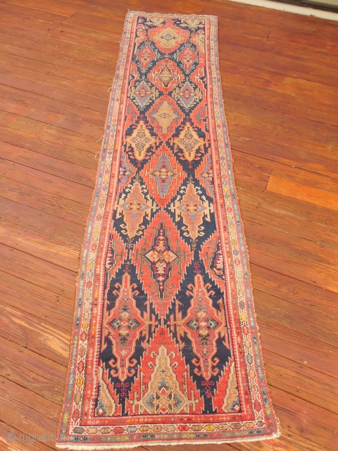 malayer runner with just a bit of wear 