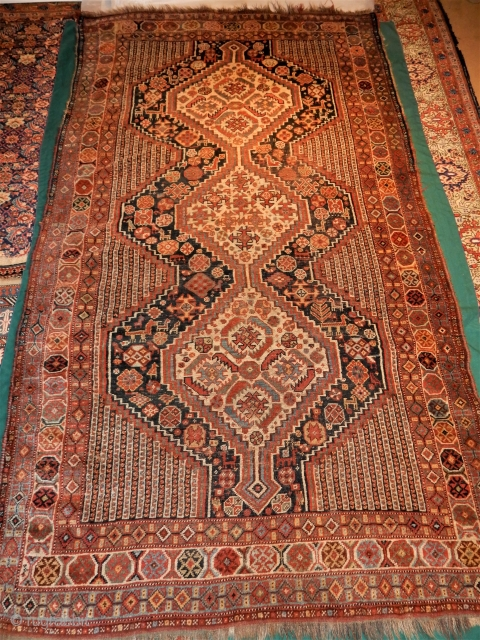 LARGE 41/2 X 8 1/2 FT SOUTH PERSIAN RUG 