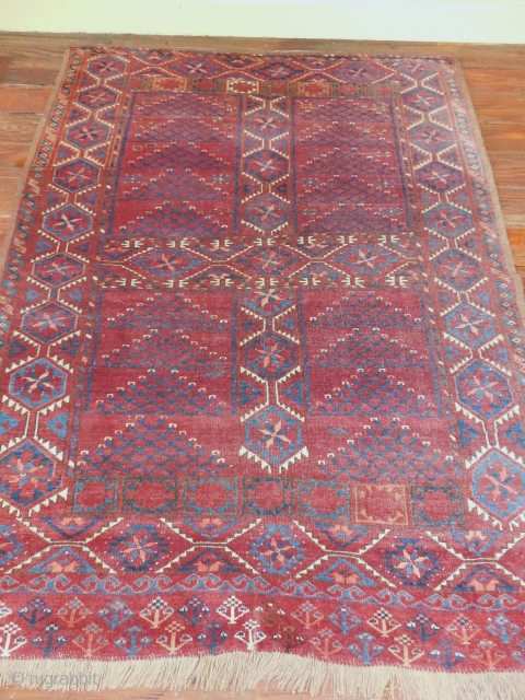 ERSARI ENSI AS FOUND - NEEDS WASH   LARGE SIZE  EXCELLENT CONDITION WITH GOOD PILE