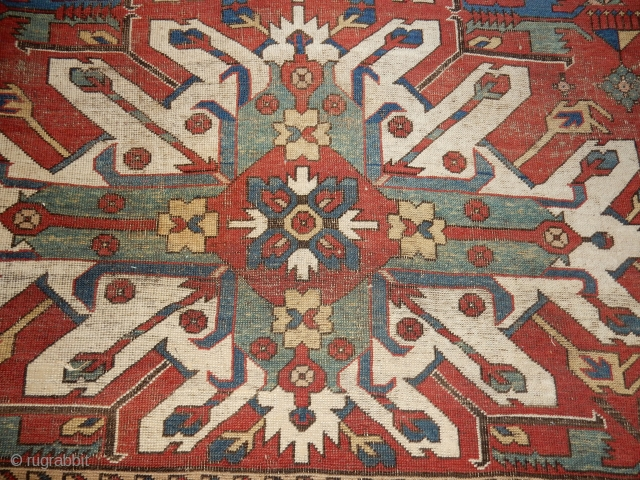 I WANT TO SELL THIS KAZAK - LARGE WITH 3 NICE MEDALLIONS -166 CM X 250 CM - ALL NATURAL DYES  ONLY $1200  USD