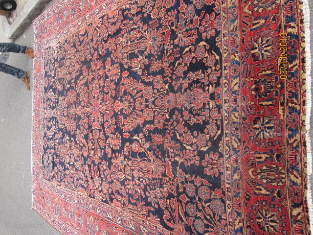 FINE OLD SAROUK CARPET 9 X 12 FT.