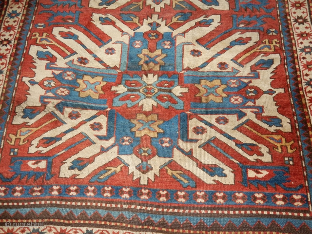 EAGLE KAZAK THAT HAS NEARLY FULL PILE AND 5 X 8 FT SIZE